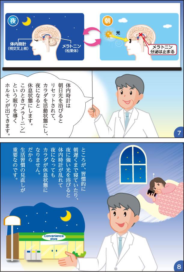 リセット 体内 時計 朝日を浴びて体内時計をリセット ~ティーペック健康ニュース